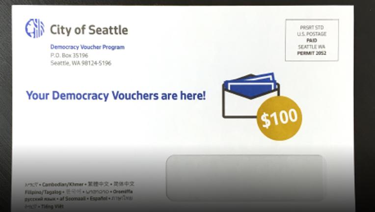 Democracy voucher