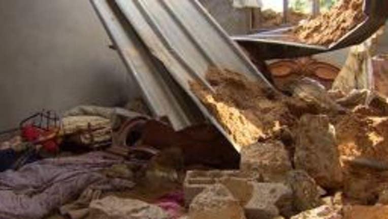 gaza shelling