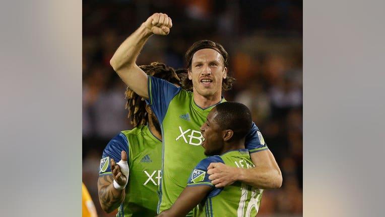 Seattle Sounders v Houston Dynamo - Western Conference Finals - Leg 1