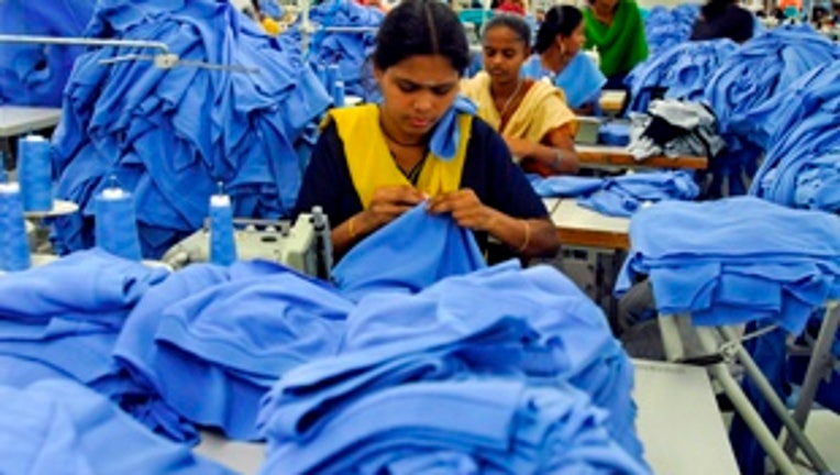 India Textile worker