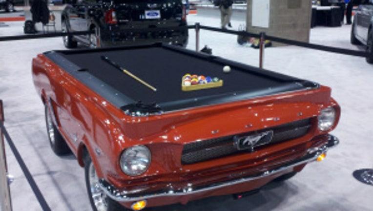 Mustang Pool car