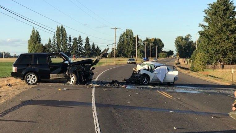 Oregon-crash