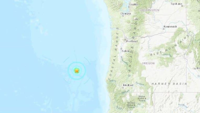 Oregon-quake
