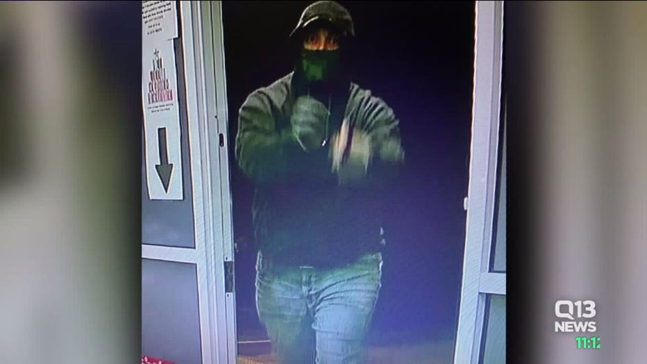 Pot Shop Robbery Suspect