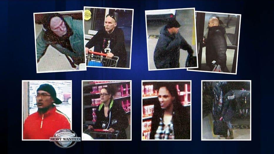 Bainbridge Island suspects