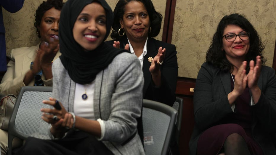 Iftar Hosted By Reps. Ilhan Omar, Rashida Tlaib and Andre Carson Marking The End Of Ramadan