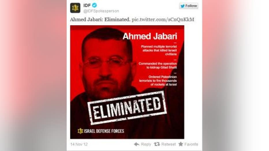 idf spokesperson tweet
