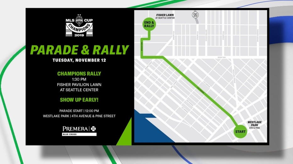 KIGGINS PKG SOUNDERS WIN MLS CUP PREPS FOR PARADE TOMORROW 11.11