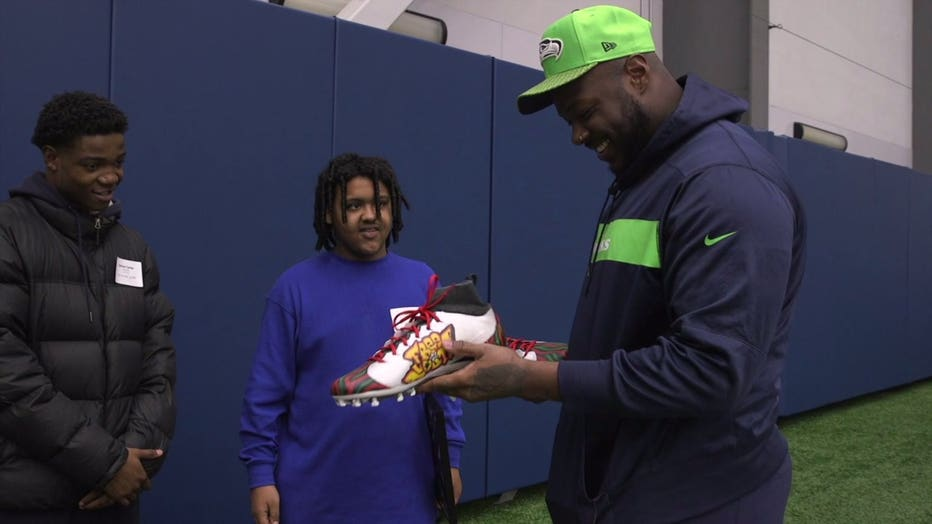 looking at cleats