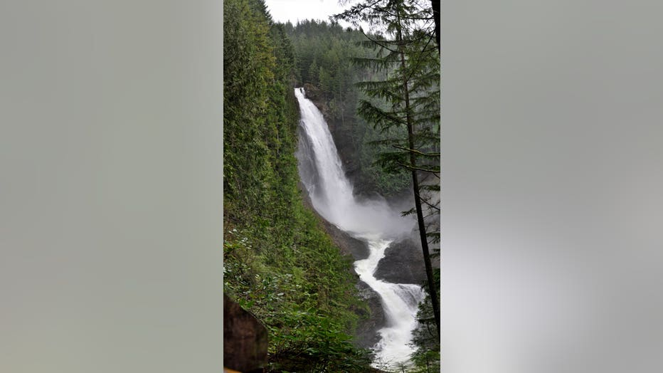Wallace Falls-middle falls