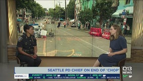 Seattle Police Chief Carmen Best discusses the end of 'CHOP'