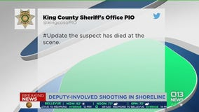 One dead after police shooting in Shoreline