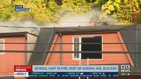 Multiple people injured in Seattle apartment fire