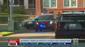 Suspect dies in deputy involved shooting