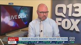 SCOTUS rules Manhattan DA can see Trump's tax returns