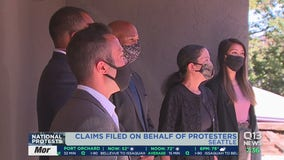 Claims filed on behalf of protesters