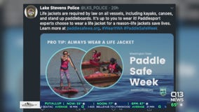 Police spread water safety awareness as Washingtonians flock to lakes and rivers
