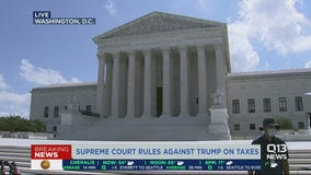 Supreme Court rules on Trump's tax returns