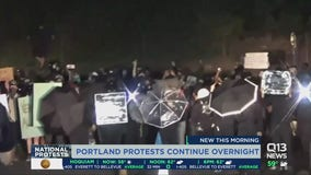 Tensions escalate as protests continue in Portland