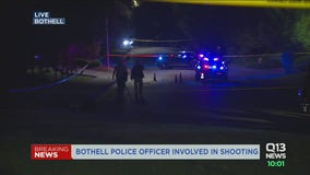 Bothell officer shoots, kills man who charged at him with knife, police say