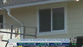 Suspect in Tacoma double homicide found dead