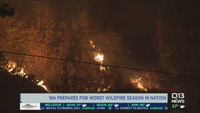 Washington expected to have worst wildfire season in US