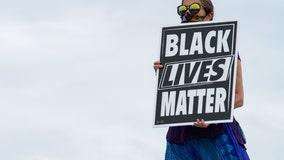 Family warned of jail time for Black Lives Matter chalk art