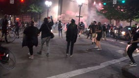 The blame game escalates as protests, clashes with federal agents continue in Portland
