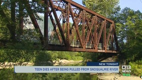 Teenager dies after jumping off trestle bridge into Snoqualmie River