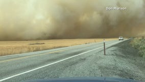 Wildfire burns more than 10,000 acres in Douglas County