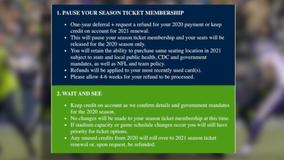 Seahawks offer optional refunds for 2020 season to season ticket holders