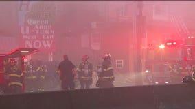 Multiple people injured in morning motel fire in Seattle