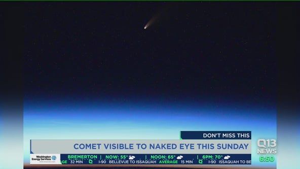 How to see a comet with your naked eye this weekend