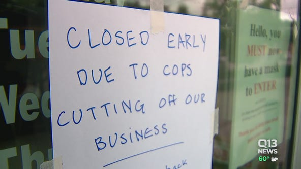 Owners say police presence following CHOP sweep is hurting business