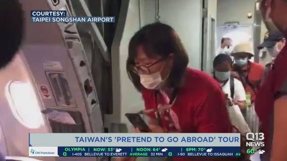 Taiwan's 'Pretend to Go Abroad' tour