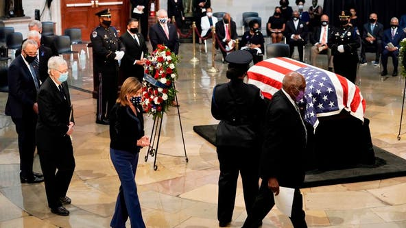 Pelosi, others hail John Lewis as 'conscience' of Congress