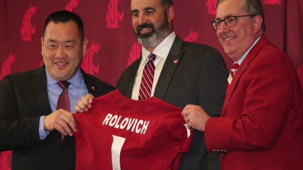 WSU Head Football Coach Nick Rolovich pays it forward in Pullman