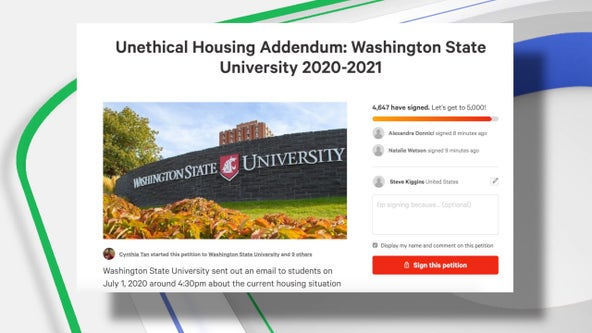 Petition calls for WSU to award refunds should virus outbreak close campus