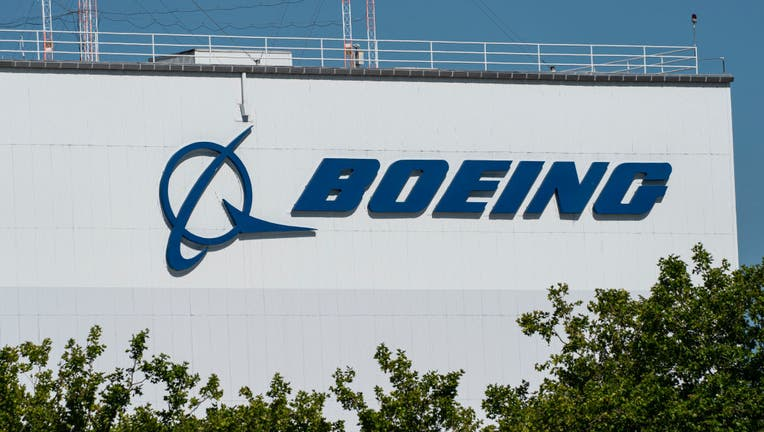 FILE - The exterior of the Boeing facility is shown at Boeing Field on July 28, 2020 in Seattle, Washington.
