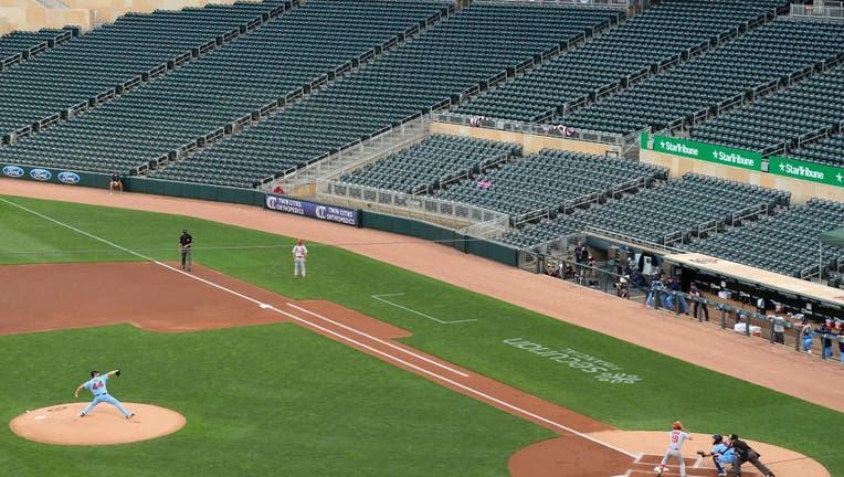 3e1d452c-St. Louis Cardinals v Minnesota Twins