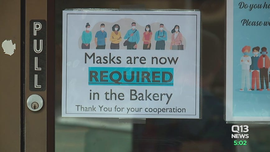 Store owners comply with statewide business face mask mandate to avoid virus risk
