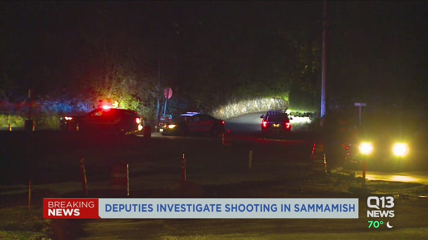 One dead in Sammamish shooting, police searching for suspects who fled the scene