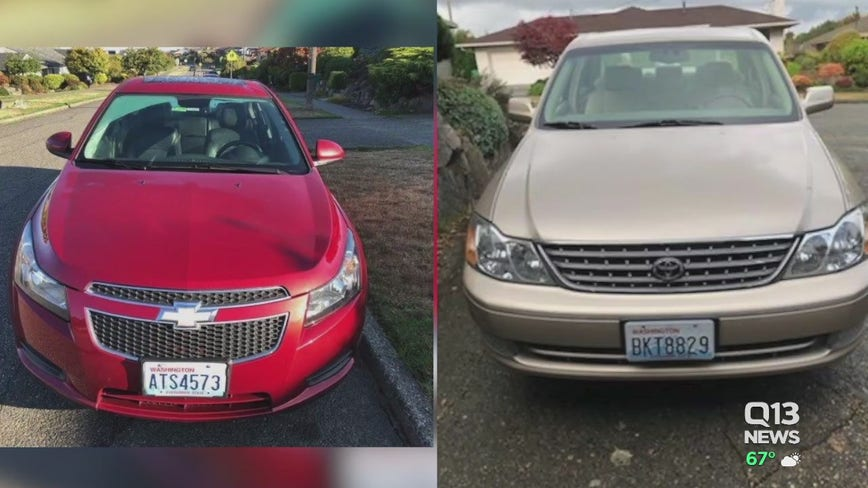 Three cars stolen in one night from Ballard family's home
