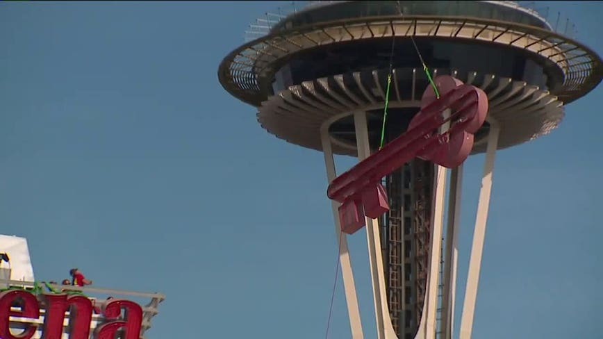 KeyArena signs removed from Seattle Center venue
