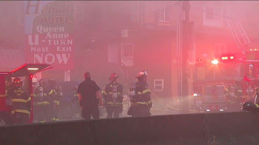 Multiple people injured in morning apartment building fire in Seattle