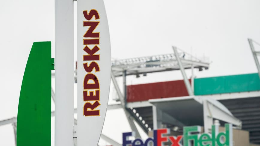 Washington retiring Redskins nickname and logo, team says
