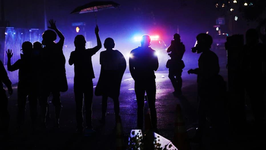 11594c63-Portland Protests Continue Unabated Despite Federal Law Enforcement Presence