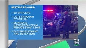 Seattle City Council OKs cuts to police positions, budget