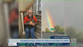 Meet Jimmy: Chehalis man always looking for letters that rarely come is flooded with mail after viral post