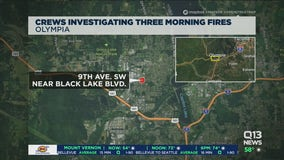 Crews investigate three morning fires in Olympia